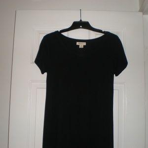 Style & Co. Petite Black Maxi Dress